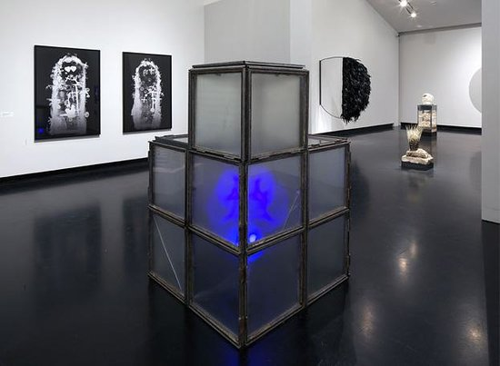 """Tang Teaching Museum : Installation of the Terry Adkin's """"Recital"""" exhibition, 2012"""
