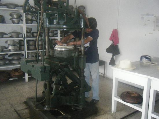 Homero Ortega: The reshaping presses