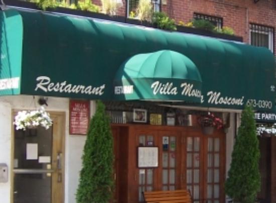 mosconi new york city greenwich village menu prices restaurant