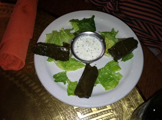 Jerusalem Garden Cafe : 4 came in the order.