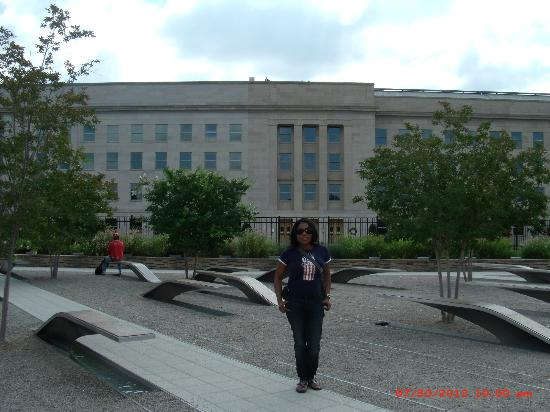 Pentagon Memorial: South Side of the Pentagon