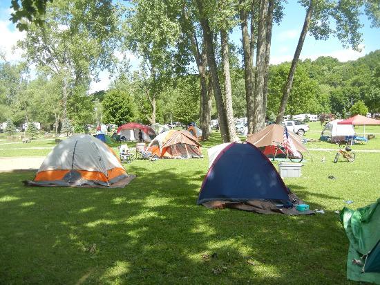 Herkimer KOA Campground: campsite