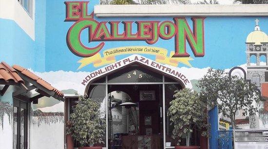 El Callejon: Main Entrance