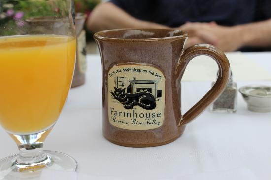 Farmhouse Inn : Breakfast