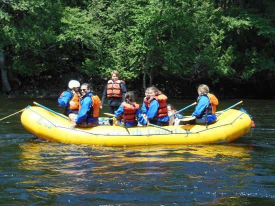 North Country Rivers: raft