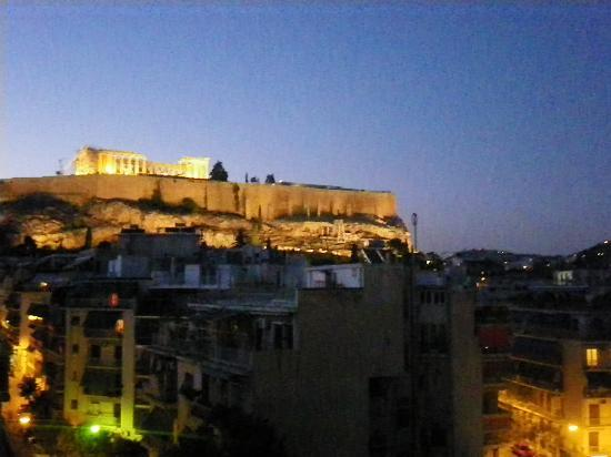 Divani Palace Acropolis: view as the sun sets over the Acropolis