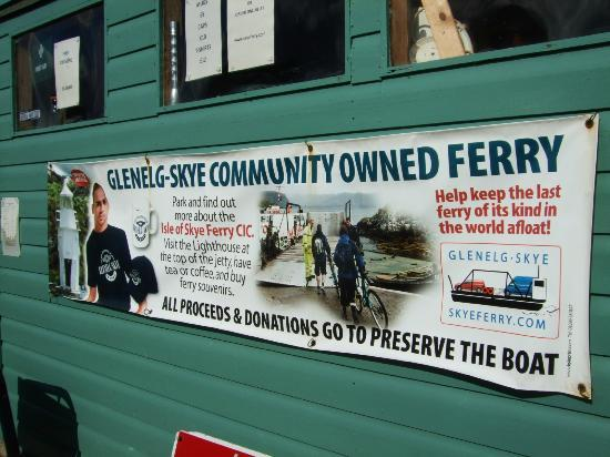 Glenelg, UK: supporting poster