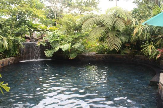 Hotel El Silencio del Campo: Hotspring pool