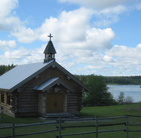 100 Mile House, Canada: Chapel (modern) - 108 Mile Ranch Heritage Site