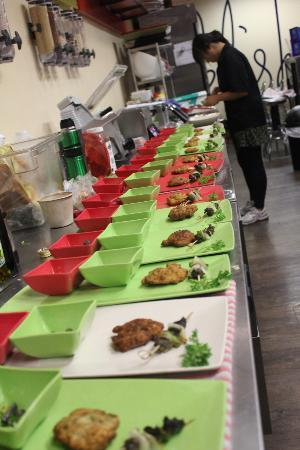 Relish Epicurea: Platting the test-tasters in Relish's kitchen