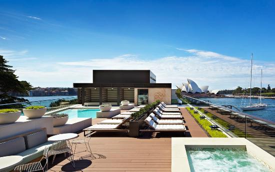 Park Hyatt Sydney: Outdoor rooftop pool