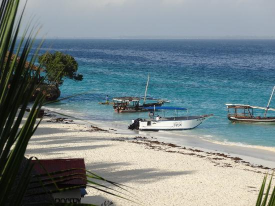 The Z Hotel Zanzibar : Beach in front of hotel