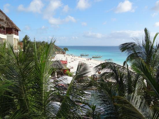 The Z Hotel Zanzibar : View from room - 3rd floor ocean view