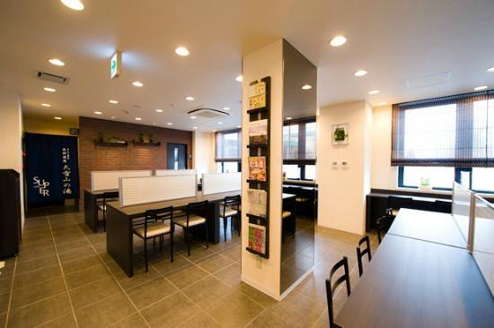 Super Hotel Asahikawa: 朝食コーナー