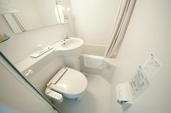 Super Hotel Asahikawa: バスルーム