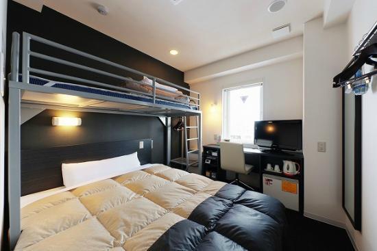 Super Hotel Asahikawa: お部屋
