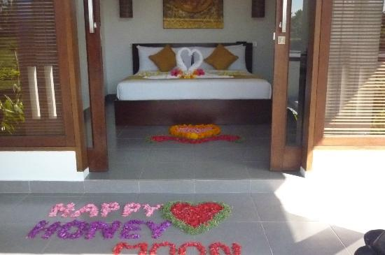 The Samara: our bedroom and honeymoon surprise!