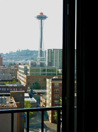 Warwick Seattle View Of E Needle From My Balcony