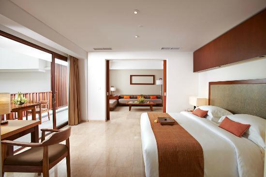 The Magani Hotel and Spa: Magani suite at the magani
