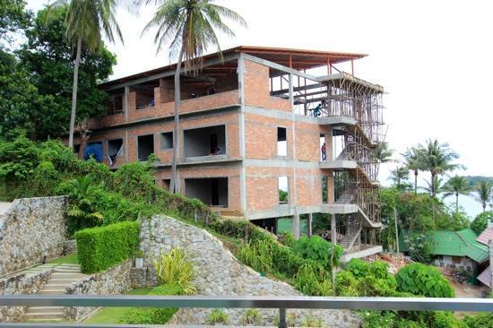 Sugar Palm Grand Hillside: Baustelle August 2012