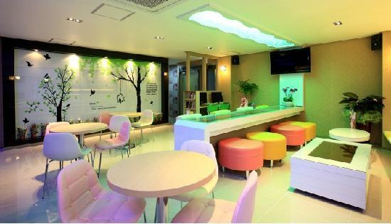 Guesthouse Korea Haeundae : 내부
