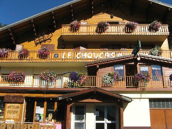B&B Le Choucas: La facade de l'hotel