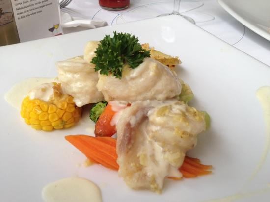 Mali Seafood Restaurant & Bar: Lucian's fillet