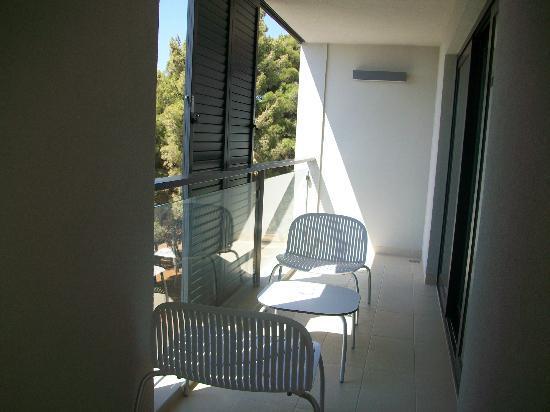Hotel Laguna Parentium: Balkon