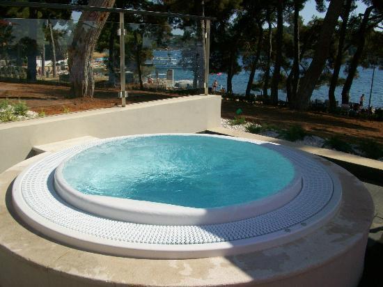 Hotel Laguna Parentium: Jacuzzi mit Meerblick im Poolbereich