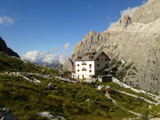 Sesto, إيطاليا: Ecco il rifugio 