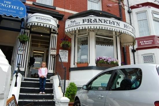 Franklyn Hotel: Ruby's first visit to Blackpool