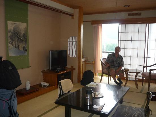 Ryokan Biyunoyado: Our room