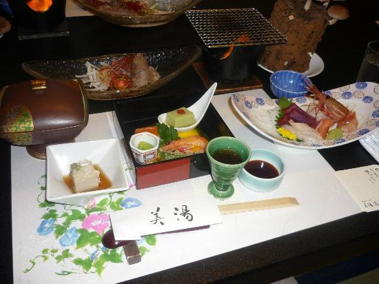 Ryokan Biyunoyado: The meals at Biyu no Yado are divine!