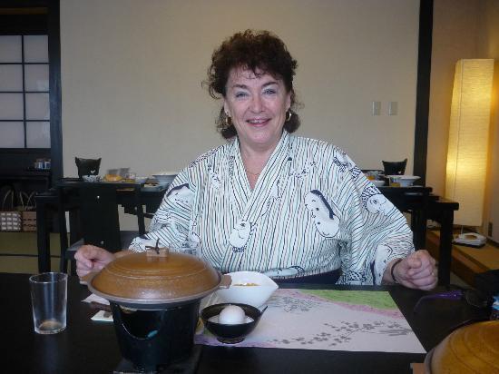 Ryokan Biyunoyado: A happy eater