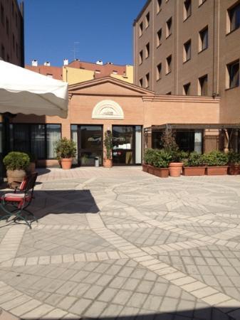 Michelangelo Hotel: terrazzo Hotel Michelangelo
