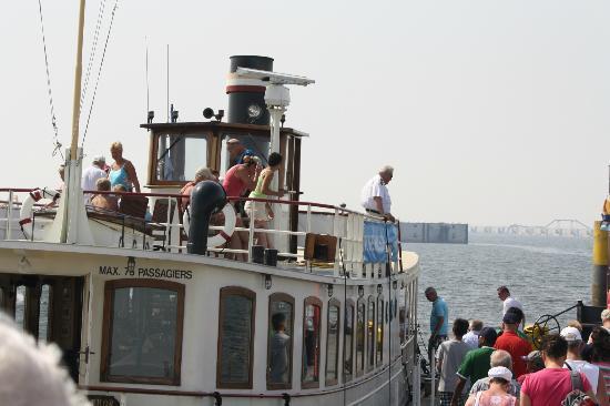 FutureLand Maasvlakte 2 : The guided tour boat