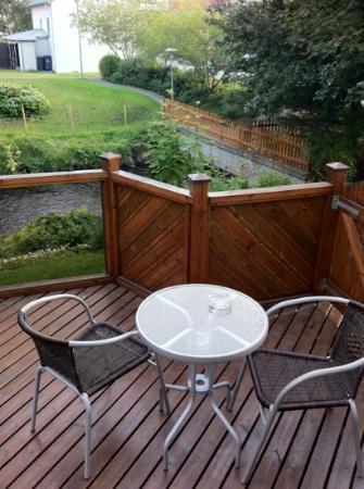 Guesthouse Arbol: terraza