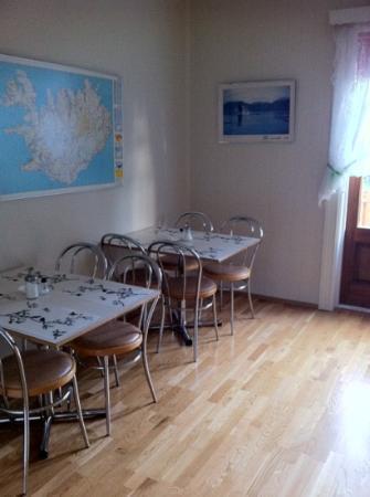 Guesthouse Arbol: comedor