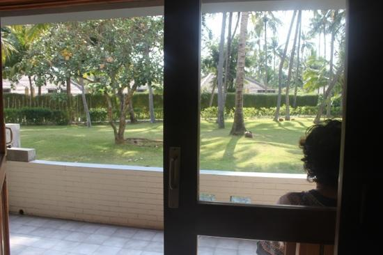 The Santosa Villas & Resort: view from inside the room