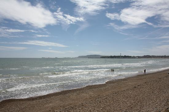 Shingle end of Weymouth Beach