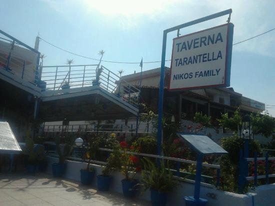 Taverna Tarantella: outside