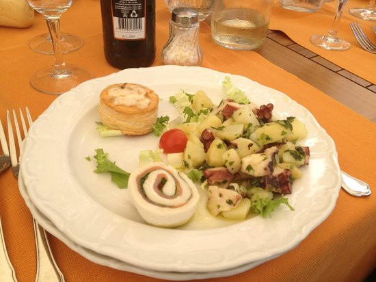 Ristorante miramare porto venere restaurant avis for Portovenere cuisine