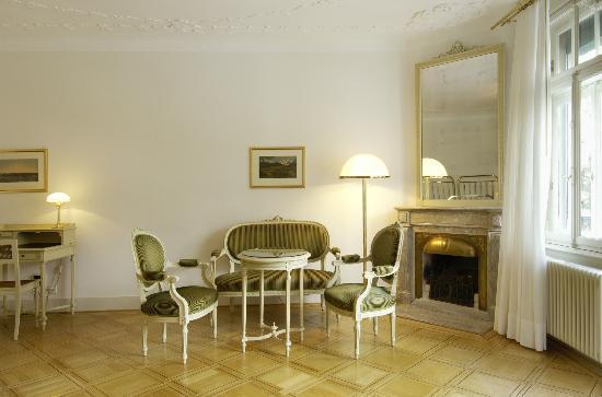 Hotel Waldhaus: Nostalgisches Zimmer