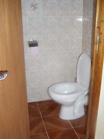 Chambres de Pech Mortier: wc séparé