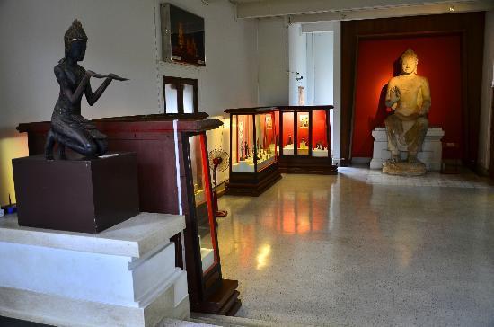 Chao Sam Phraya Museum : ภายในห้องจัดแสดง