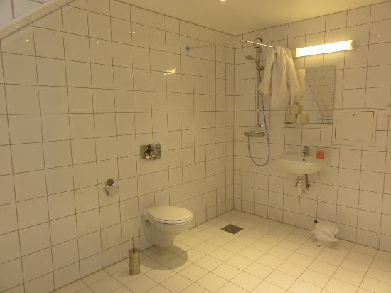Chateau Apartments: Muy grande, con cortinas en duchas.