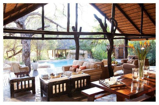 Thornybush Private Game Reserve, Sudafrica: Chapungu Main Deck