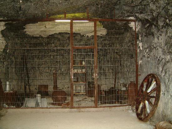 Forteresse de Mimoyecques : Mimoyecques - tunnel