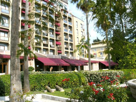 Parco dei Principi Grand Hotel & SPA: notre balcon, au 4 eme