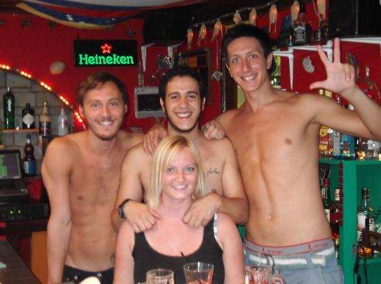 Demetra Studios: Meet the staff of the pool bar ROUGE BOOZE , Amazing people..